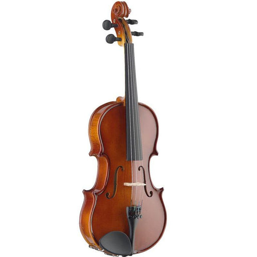 Stagg Vn-12 Ef 12 Solid Maple Violin With Ebony Fingerboard And Standard-Shaped Soft Case