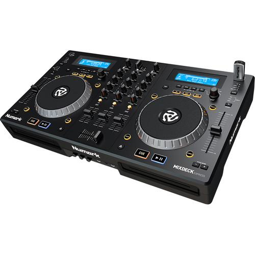 Numark Mixdeck Express Premium Dj Controller With Cd Amp Usb Playback - Red One Music