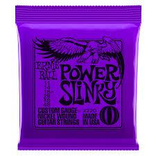 Ernie Ball Nickl Power Slinky 2220Eb Power Slinky Set de plaie de nickel