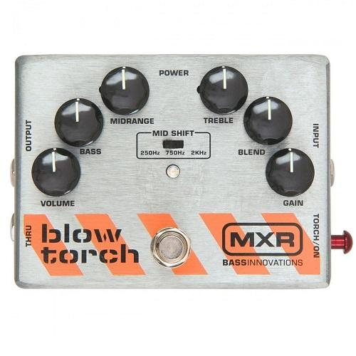 Mxr M181 Bass Blowtorch Blow Torch Distortion - Red One Music