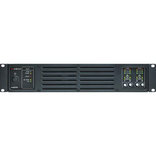 Ashly Ne4250Pe 4-Channel Network Enabled Amplifier With Protea Dsp 4 X 250W @ 4 Ohms
