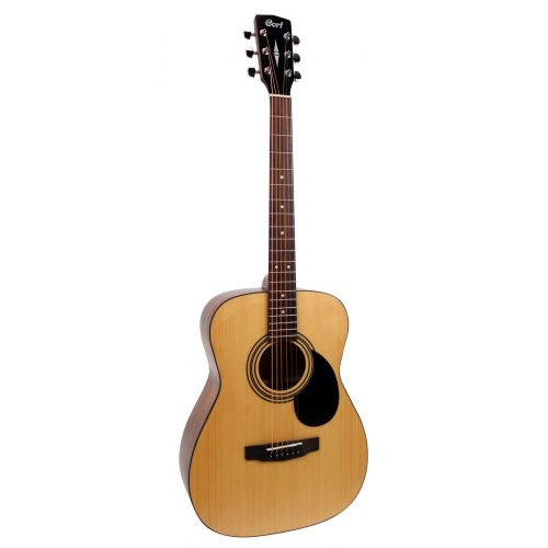 Cort AF510-OP Folk Body Acoustic Guitar - Red One Music