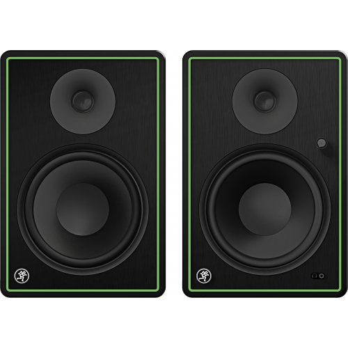 Mackie CR8-XBT 8in Multimedia Monitors W/bluetooth (Pair) - Red One Music