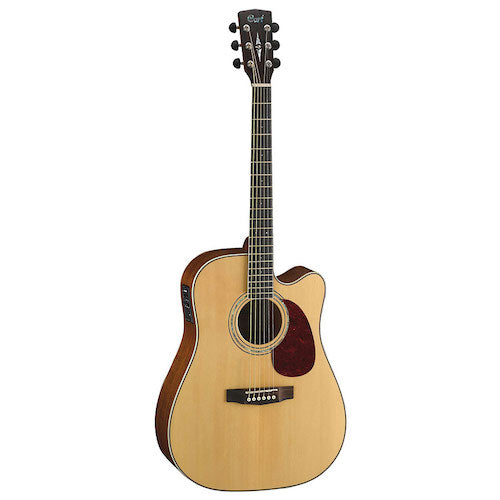 Cort MR710F-NS Venetian Cutaway Dreadnought Acoustic Guitar - Red One Music