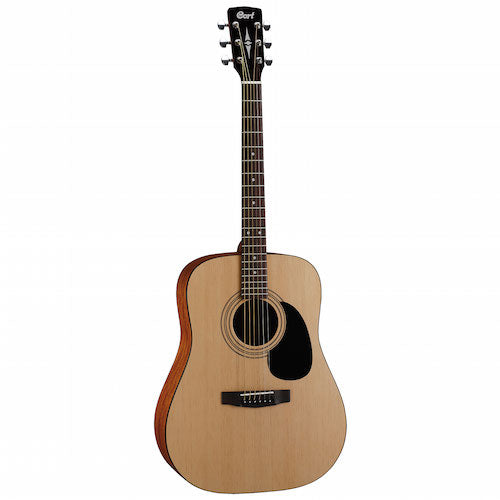 Cort AD810E-OP Acoustic Guitar Open Pore Natural - Red One Music