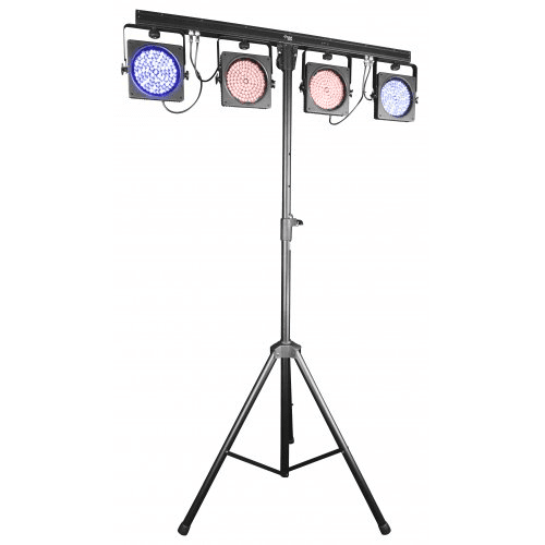 CHAUVET 4BAR USB  COMPLETE WASH LIGHTING SOLUTION DESIGNED FOR MOBILE ENTERTAINERS