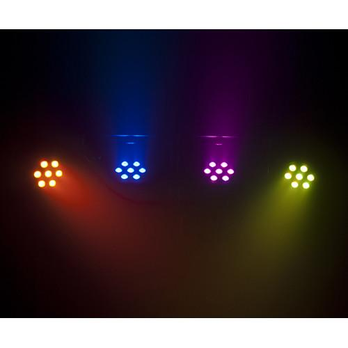 CHAUVET 4BAR TRI USB WASH LIGHTING KIT