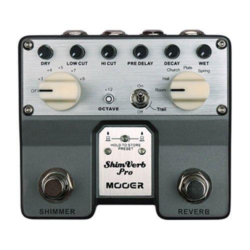 Mooer Tvr1 Shimverb Pro Dual Digital Reverb Pedal - Red One Music
