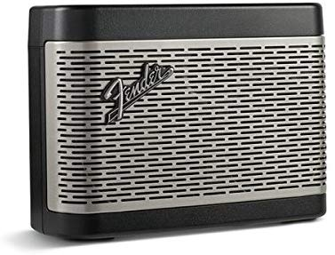 Fender NEWPORT Battery Powered Portable Bluetooth Speaker (Black) - Red One Music