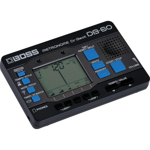 Métronome Boss Db-60 Dr Beat - Red One Music
