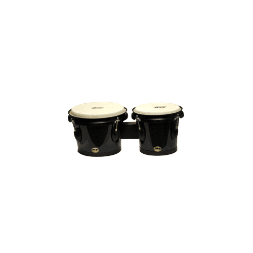 "Mano Percussion Bongo accordable en bois, tambours Mp715-Bk, finition naturelle 7 ""& 8"""