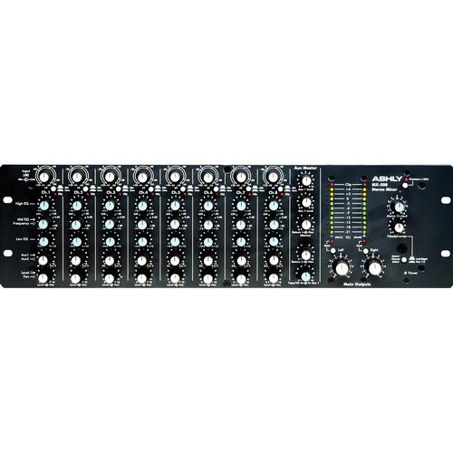 Ashly Mx-508 Stereo Microphone Mixer