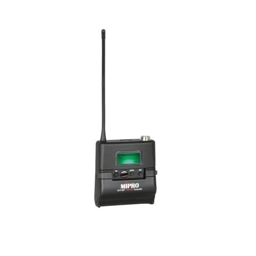 Mipro Act80T Miniature Bodypack Transmitter Wideband Digital Miniature Bodypack Transmitter - Red One Music