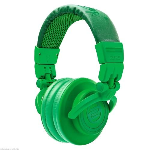 Reloop Rhp-10 Green Leaf Casque Professionnel En Eacutedition Limiteacutee