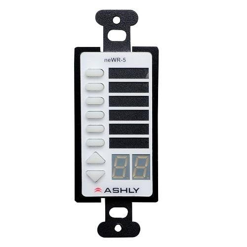 Ashly Newr-5 Network Programmable Decora Wall Remote