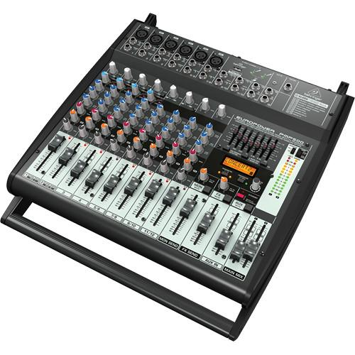 Behringer Pmp500 Powered Mixer 500-Watt 12-Channel Powered Mixer - Red One Music