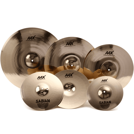 Sabian AAX PW1 Cymbal Variety Package