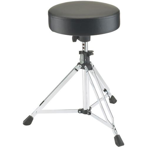 K&M 14020 Chrome Picco Drummers Throne Chrome - Red One Music