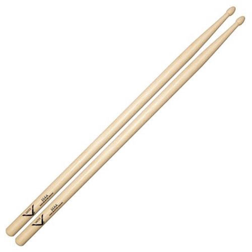 Vater Vh55Aa 55Aa Hickory Drum Sticks With Acorn Tip - Red One Music