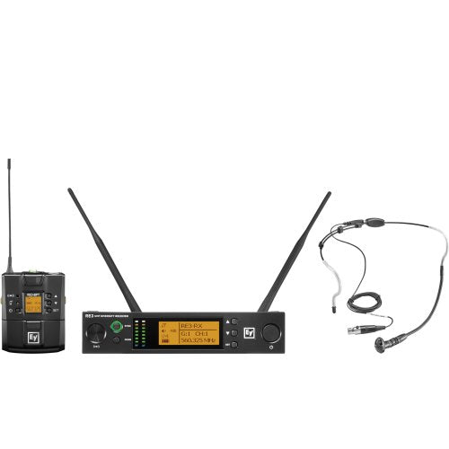Electro-Voice RE3-BPHW Wireless Headset Mic System
