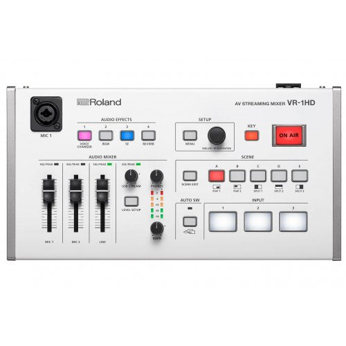 Roland VR-1HD Pro A/V Streaming Mixer - Red One Music