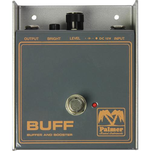 Palmer Pebuff Palmer Pebuff Buffer And Booster - Preamp For Electric Instruments - Red One Music
