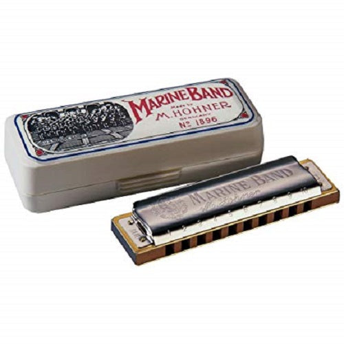 Hohner 1896Bx-Ma Marine Band - Red One Music