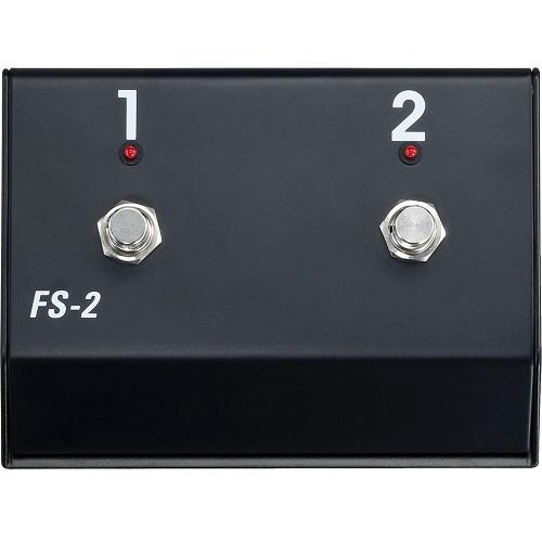 Hughes  Kettner Fs-2 2-Button Foot Switch - Red One Music