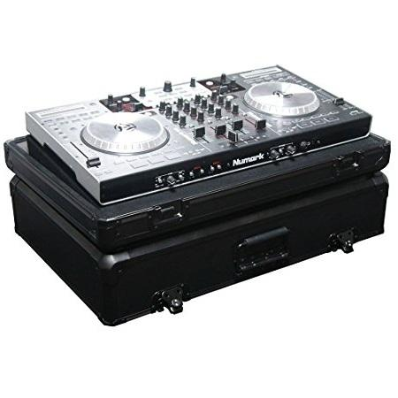 Odyssey Dj Controller Case Kdjc3Bl Black Krom - Red One Music