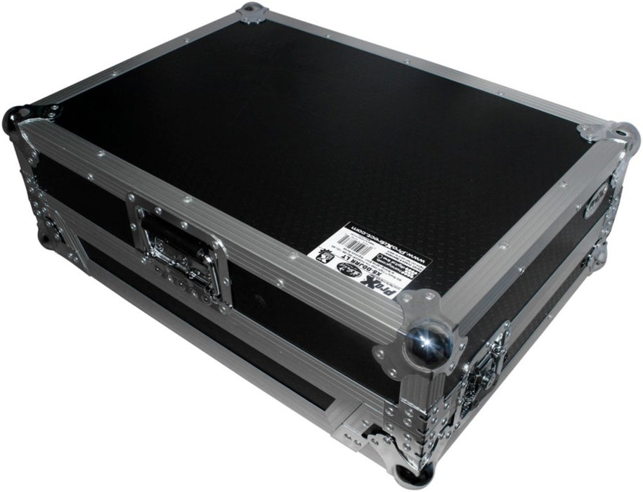 Prox XS-DDJRRLTBL Pioneer DDJ-SR2/DDJ-RR Flight Case W/ Laptop Shelf - Red One Music