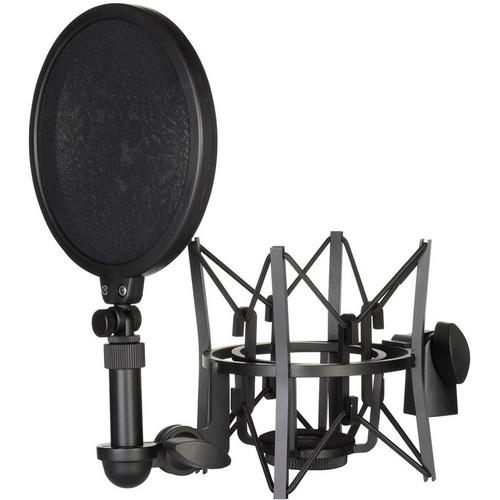 Rode Sm6 Shock Mount With Detachable Pop Filter - Red One Music