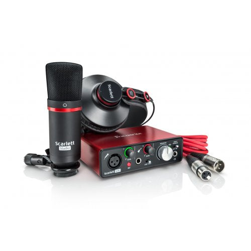 Focusrite Scarlett Solo Studio Ensemble d'interface audio USB Mk2