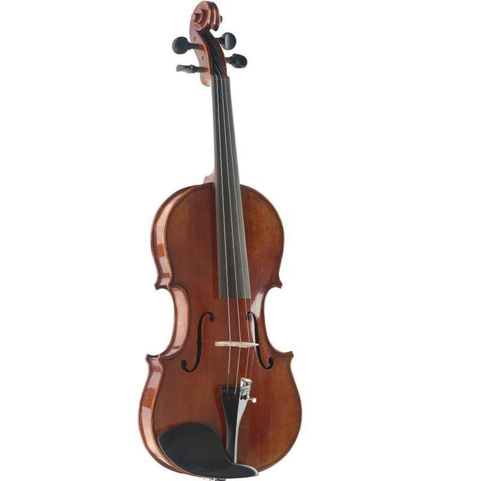 Stagg Vn-34 Hg 34 Hand-Varnished Solid Flamed Maple Violin With Deluxe Soft-Case