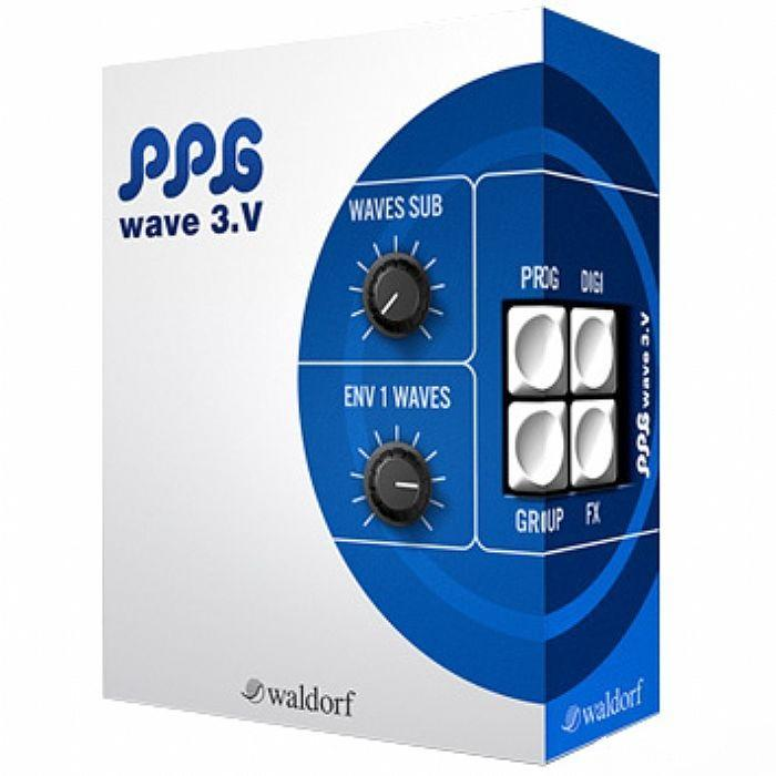 Plug-in Waldorf Ppg 3V Wave Synthesizer - Red One Music