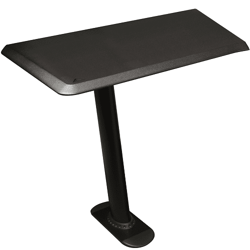 Ultimate Nucleus NUC EX24L Studio Desk Table Top - Single 24 Extension With Leg Left