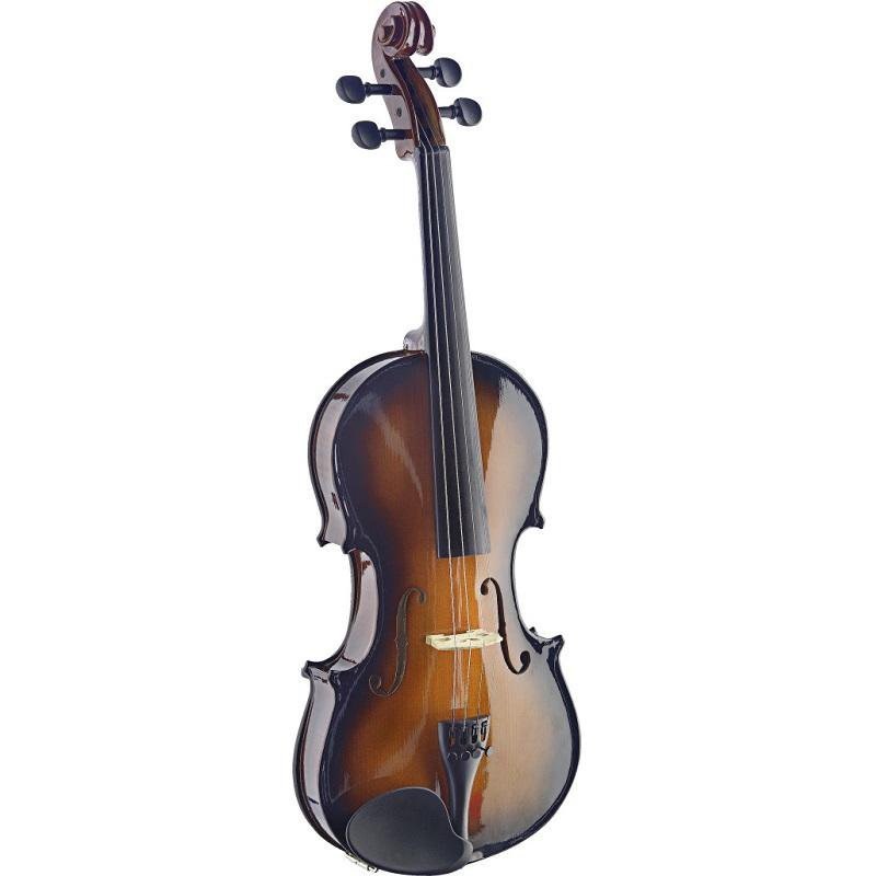 Stagg Vn44-Sb 44 Solid Maple Violin With Standard-Shaped Soft-Case