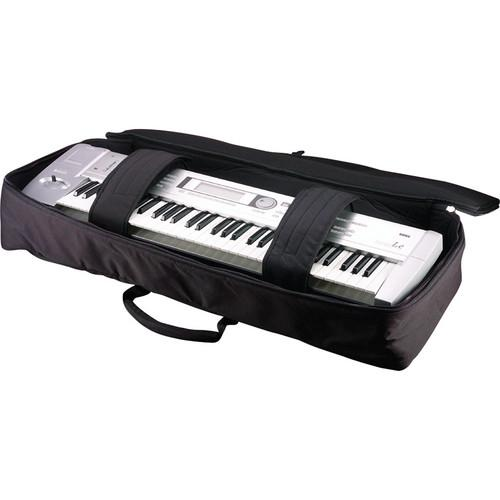 Gator Gkb-76Slim Keyboard Gig Bag For 76-Note Slim Keyboards Black - Red One Music