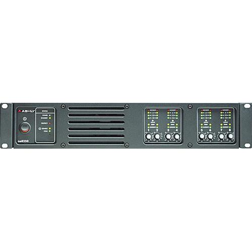 Ashly Ne8250.25Pe Network Enabled Eight-Channel Amp 250W @ 25V Amp Dsp