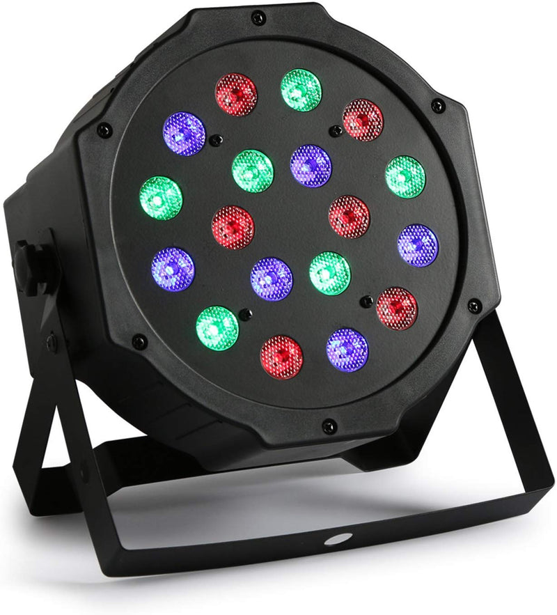 Storm Par 64 18x3W Stage Lighting RGB LED