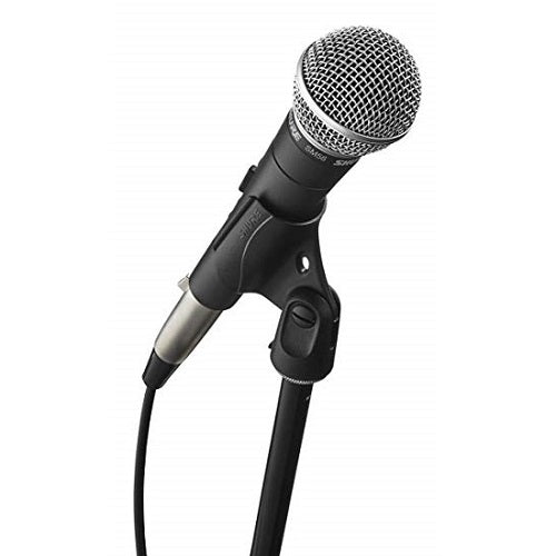 Shure SM58-CN-BTS Stage Performance Microphone Kit with SM58, Cable and Stand