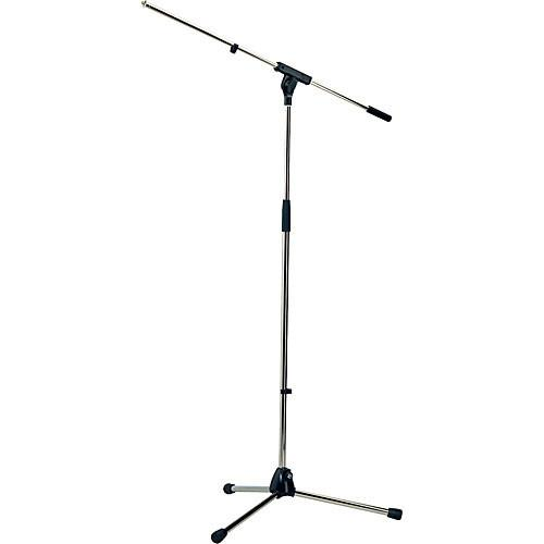 K&M 210/6 Nickel Tripod Microphone Stand With 32 Boom Nickel - Red One Music