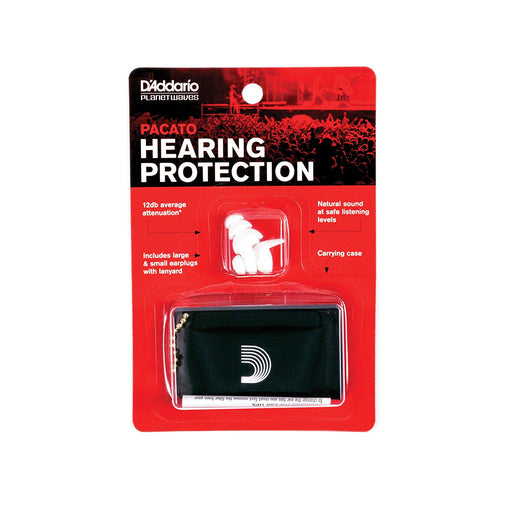 Planet Waves PWPEP1 Pacato Hearing Protection - Red One Music