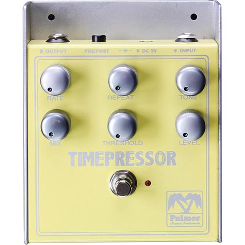 Palmer Pitmep Palmer Pitmep Timepressor Delay And Compressor Effects Pedal - Red One Music