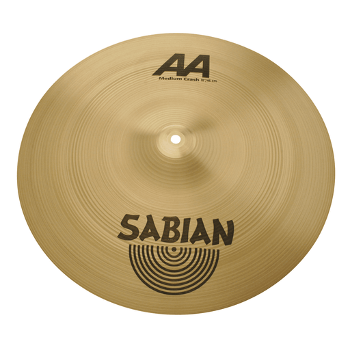 "Sabian Crescent 18"" Element Crash - Red One Music"