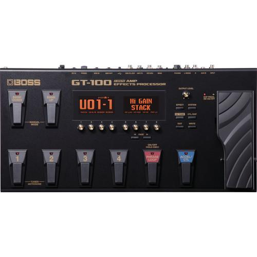 BOSS GT-100 COSM AMP EFFECTS PROCESSOR