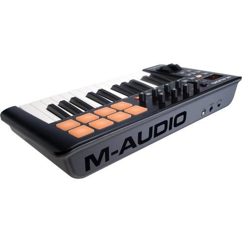 M-Audio Oxygen 25 Iv  Usb Midi Keyboard Controller - Red One Music
