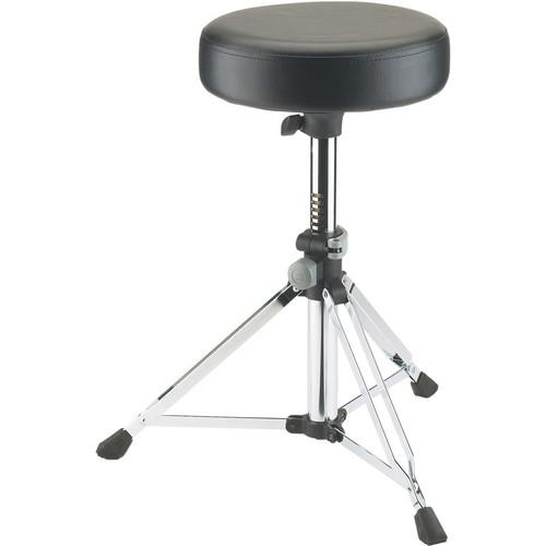K&M 14030 Chrome Grande Drummers Throne Chrome