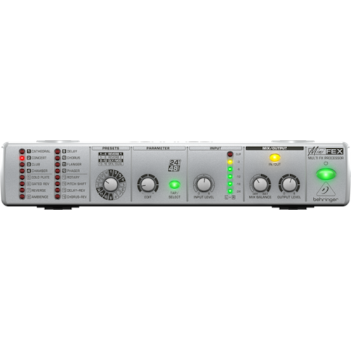 Behringer Fex800 Processeur Stereo Multi-Fx Ultra-Compact