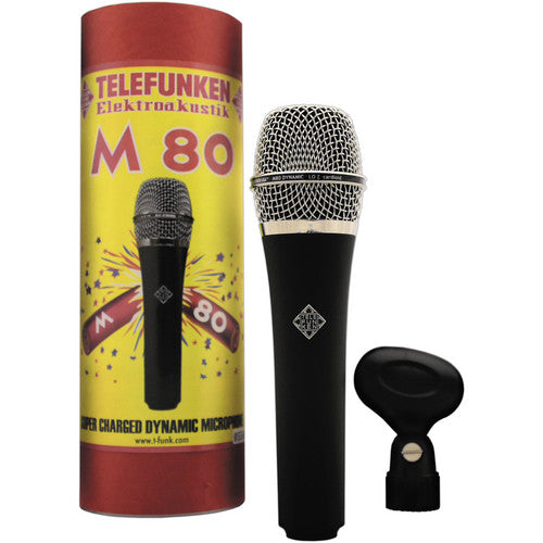 Telefunken M80 Handheld Dynamic Microphone - Red One Music