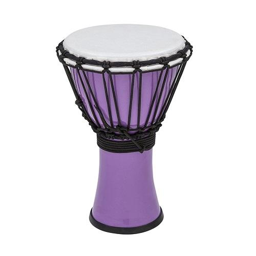 Toca Tfcdj-7Pr Colorsound 7-Inch Djembe Pastel Red - Red One Music